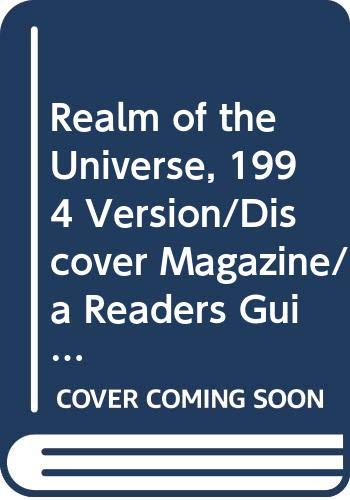 9780030067327: Realm of the Universe, 1994 Version/Discover Magazine/a Readers Guide to Astronomy Now!