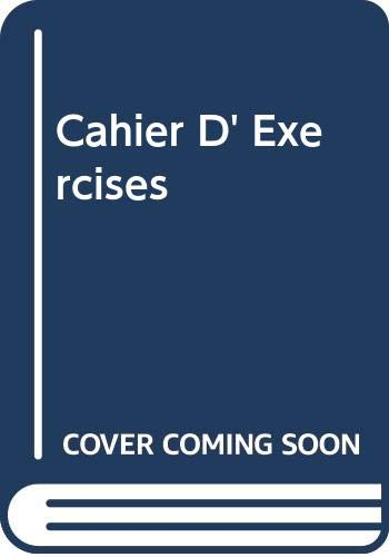 9780030067723: Cahier D' Exercises