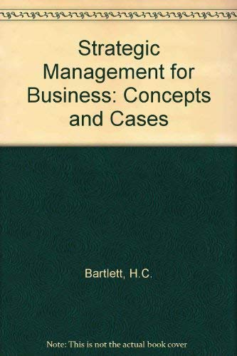 9780030071836: Cases in Strategic Management for Business (The Dryden Press series in management)