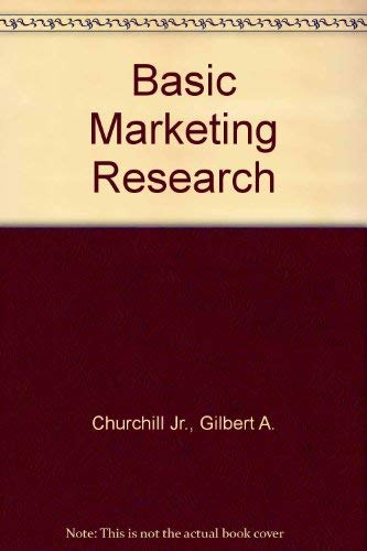 9780030072789: Basic Marketing Research