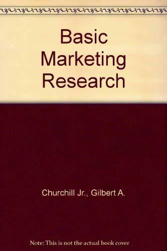 9780030072789: Basic Marketing Research (Dryden Press series in marketing)