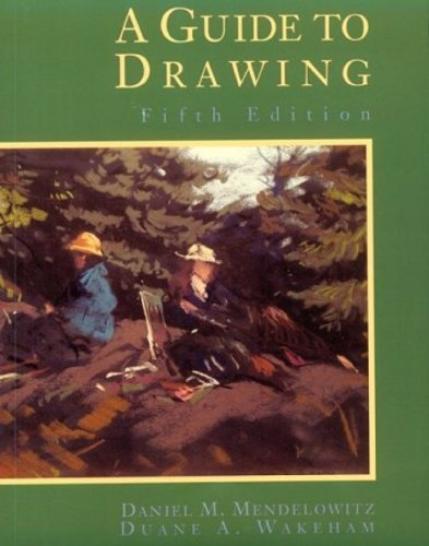 9780030073120: A Guide to Drawing