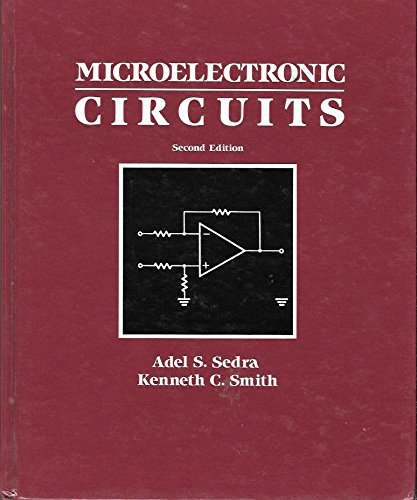 9780030073281: Microelectronic Circuits (HRW series in electrical engineering)