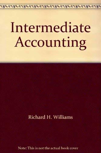 9780030073885: Intermediate Accounting