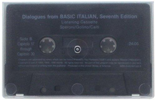 9780030074837: Audio Tape for Basic Italian, 7th