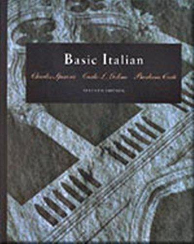 9780030074844: Basic Italian (with Audio Tape) (World Languages)