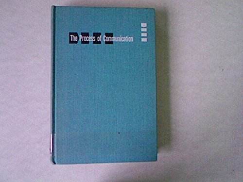 9780030074905: Process of Communication: Introduction to Theory and Practice