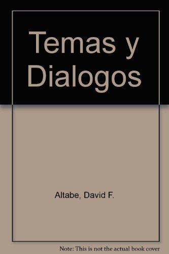 9780030075438: Temas Y Dialogos