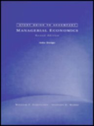 9780030075599: Managerial Economics (The Dryden Press Series in Economics)