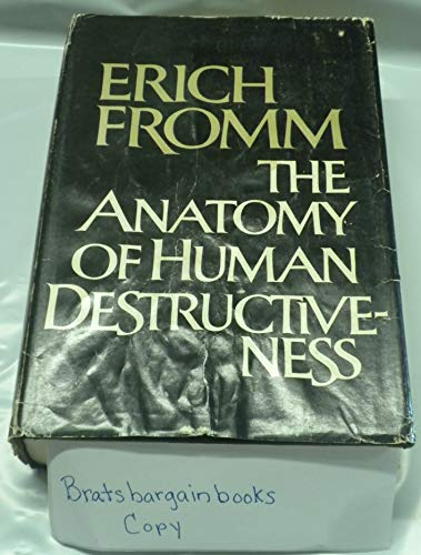 9780030075964: THE ANATOMY OF HUMAN DESTRUCTIVENESS