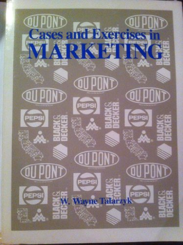 9780030076435: Cases and Exercises in Marketing