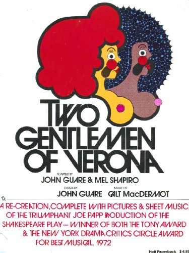 9780030076961: Two Gentlemen of Verona: A Re-Creation, Complete with Pictures and Sheet Music