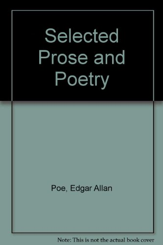 9780030077951: Selected Prose and Poetry (Rinehart editions, 42)