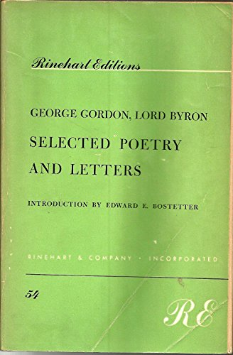 9780030079306: Selected Poetry and Letters