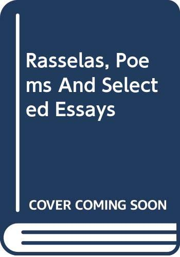 9780030080357: Rasselas, Poems And Selected Essays