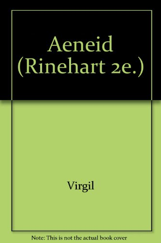 9780030085659: Aeneid (Rinehart 2e.)