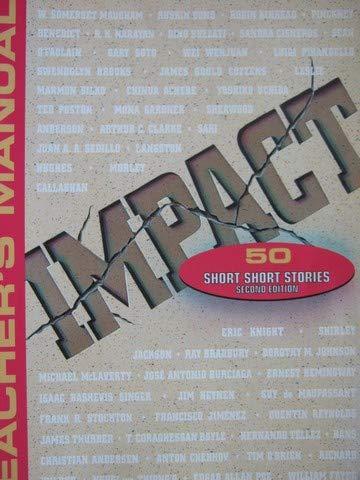 9780030086243: T/M Impact: 50 Short Short Stories 2/E 96