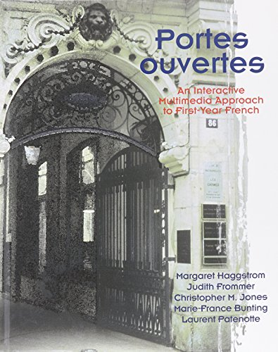 9780030086274: Portes Ouvertes: Interactive Multimedia Approach to First-Year French