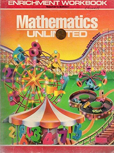 9780030086427: Mathematics Unlimited: Enrichment Workbook