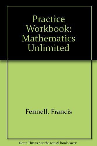 9780030087837: Mathematics Unlimited Practice Workbook