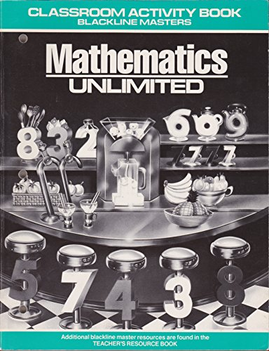 9780030088384: Mathematics Unlimited / Classroom Activity Book / Grade 4