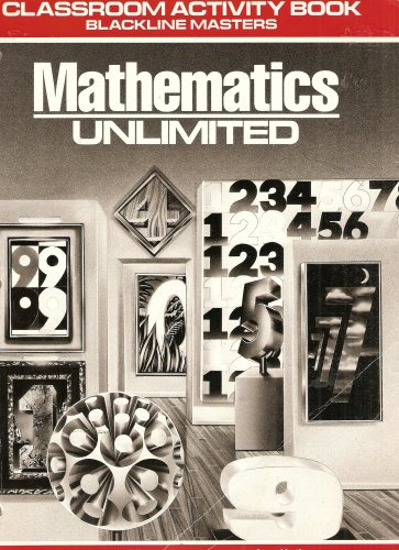 9780030088520: Mathematics Unlimited: Classroom Activity Book Blackline Masters