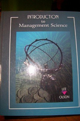 9780030088926: Introduction to Management Science