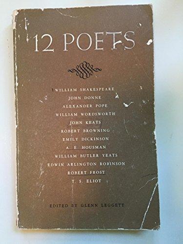 9780030089558: 12 Poets