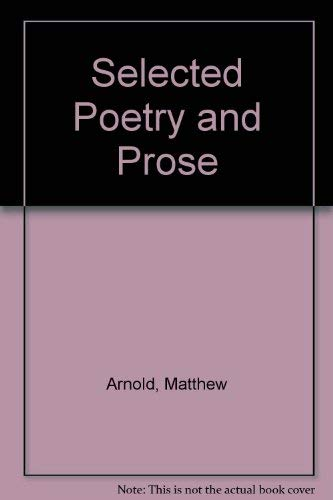 9780030092206: Selected Poetry and Prose