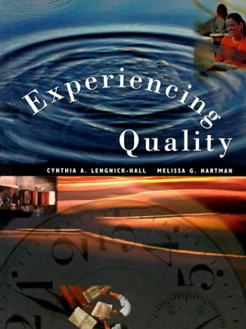 9780030092541: Experiencing Quality