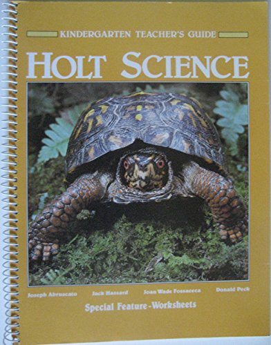 9780030093074: Holt Science Kindergarten Teacher's Guide