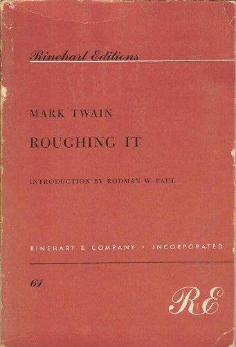 9780030093104: Roughing it