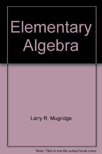 9780030094095: Elementary Algebra