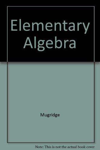 9780030094132: Elementary Algebra