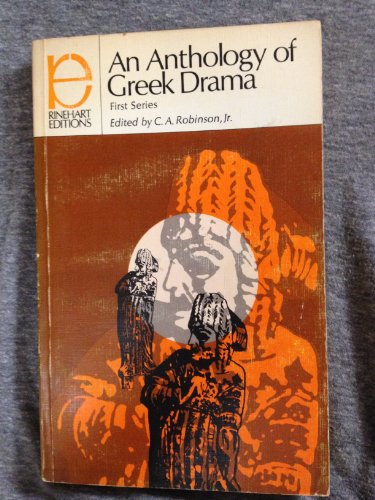 9780030094156: An Anthology of Greek Drama