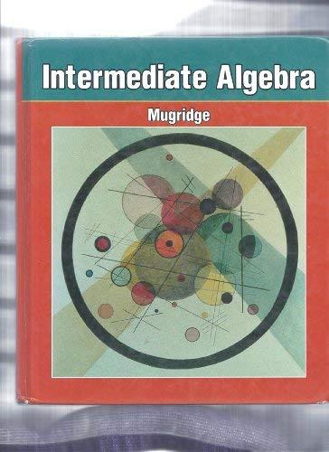 9780030094774: Intermediate Algebra