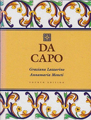 9780030095221: Da Capo: An Italian Review Grammar