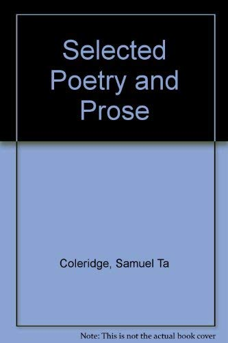 9780030095306: Selected Poetry and Prose