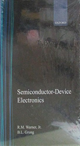 9780030095597: Semiconductor-Device Electronics (Holt, Rinehart, & Winston Series in Electrical Engineering)