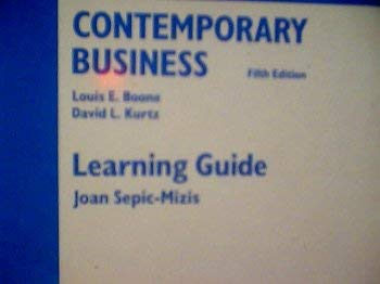 9780030097133: Contemporary Business Learning Guide