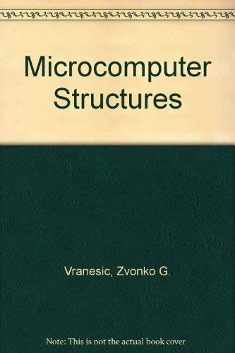 9780030097393: Microcomputer Structures (The Oxford Series in Electrical and Computer Engineering)