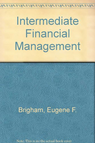 9780030097744: Intermediate Financial Management (The Dryden Press series in finance)