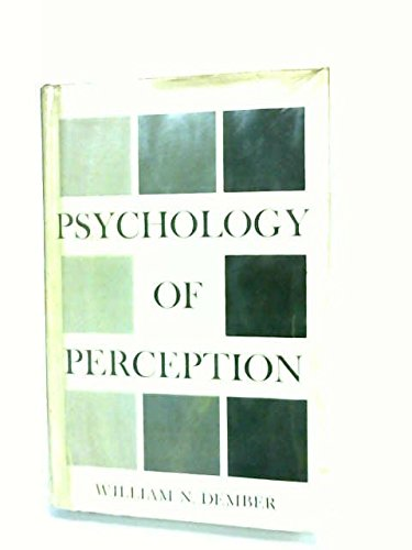 9780030099908: The psychology of perception
