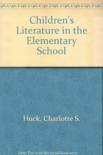 9780030100512: Children's Literature in the Elementary School