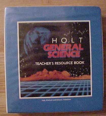 9780030101243: Holt General Science Teacher's Resource Book