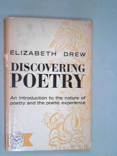 9780030102608: Discovering poetry