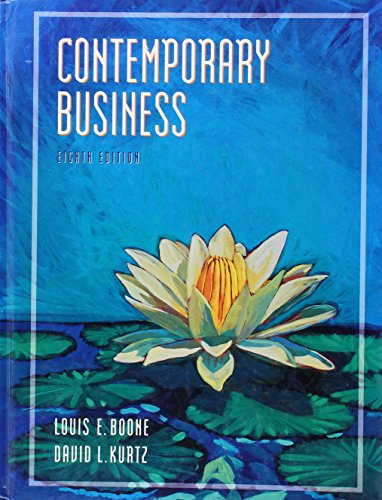 9780030102745: Contemporary Business (The Dryden Press Series in Management)