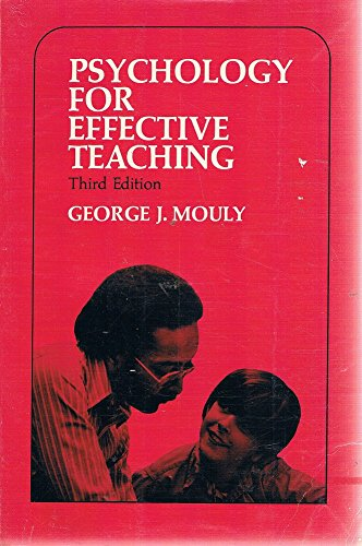 9780030103261: Psychology for effective teaching