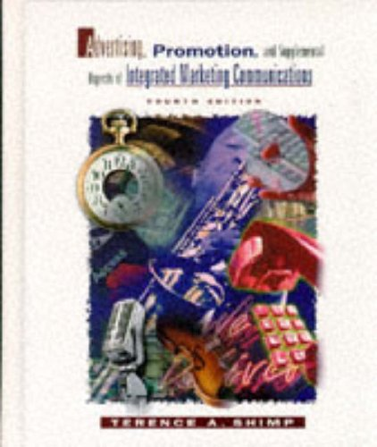 9780030103520: ADVT'G,PROMO&SUPP ASPECTS OF MKT COM,4E+ (The Dryden Press Series in Marketing)
