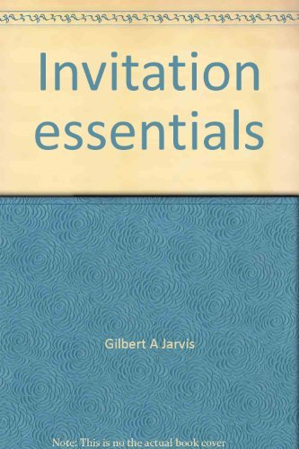 9780030103575: Invitation essentials